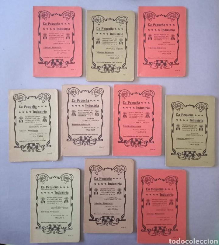 LA PEQUEÑA INDUSTRIA REVISTA POPULAR DE ELECTRICIDAD, MOTOCICLISMO, ARTES E INDUSTRIAS 1902 (Coleccionismo - Revistas y Periódicos Antiguos (hasta 1.939))