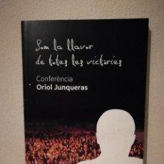 Coleccionismo de Revistas y Periódicos: REVISTA OFICIAL - CONFERENCIA ORIOL JUNQUERAS - ERC - AÑO 2019 - INDEPENDENTISMO CATALUÑA - POLITICA. Lote 226402865