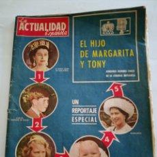 Coleccionismo de Revistas y Periódicos: LA ACTUALIDAD ESPAÑOLA NÚMERO 514 - NOVIEMBRE 1961. Lote 226402920
