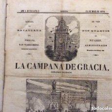 Coleccionismo de Revistas y Periódicos: LA CAMPANA DE GRACIA ,L`AS DÒROS,LLETRAS(ECOS DE PARIS -MURCIA)-LA TRAMONTANA -L'AS D`0ROS. Lote 226639730