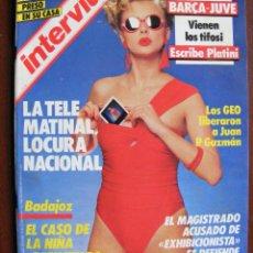 Coleccionismo de Revistas y Periódicos: REVISTA INTERVIU Nº 505 ENERO DE 1986. Lote 226776260