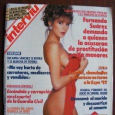 Coleccionismo de Revistas y Periódicos: REVISTA INTERVIU Nº 773 MARZO DE 1991. Lote 226963630