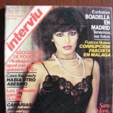 Coleccionismo de Revistas y Periódicos: REVISTA INTERVIU Nº 126 OCTUBRE DE 1978. Lote 227016270
