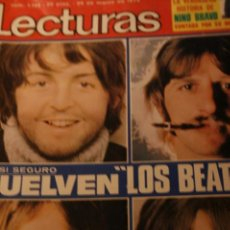 Coleccionismo de Revistas y Periódicos: BEATLES MARI TRINI NINO BRAVO ROCIO DURCAL LOLA FLORES 1974. Lote 227059530