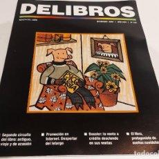 Coleccionismo de Revistas y Periódicos: DELIBROS / REVISTA DEL LIBRO 193 / DICIEMBRE 2005 / 64 PAG / COMO NUEVA.. Lote 227070630