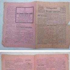 Coleccionismo de Revistas y Periódicos: EL REPARTIDOR DE EL MERCANTIL VALENCIANO. 24 DICIEMBRE 1917. Lote 227553790