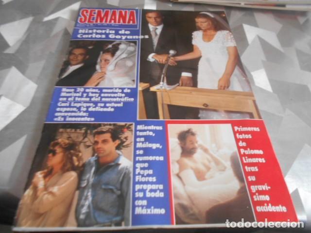 SEMANA - 27-6-1990 - MARISOL 6F - ESTEFANIA DE MONACO 2F- MISS ESPAÑA 3F - MARTA SANCHEZ 2F MADONNA (Coleccionismo - Revistas y Periódicos Modernos (a partir de 1.940) - Otros)