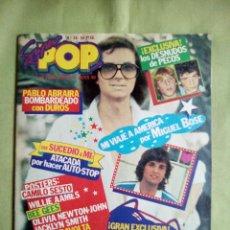Collectionnisme de Revues et Journaux: REVISTA SUPER POP Nº 38. SIN LOS OBSEQUIOS. FALTA POSTER CENTRAL. AÑO 1979. Lote 227589905