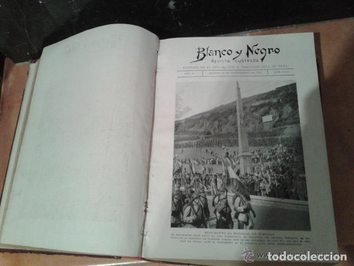Coleccionismo de Revistas y Periódicos: COLECCION DE REVISTAS ILUSTRADAS BLANCO Y NEGRO TOMOS AÑOS 1932-1933 - Foto 4 - 227617650
