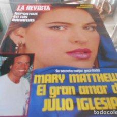 Coleccionismo de Revistas y Periódicos: LA REVISTA - 20-5-1985 - UN DOS TRES MAYRA 2F 1P - LOLA FLORES 5F 3P. Lote 227688540