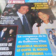 Coleccionismo de Revistas y Periódicos: LA REVISTA - 27-5-1985 - MELISSA GILBERT 3F 1P. Lote 227688650