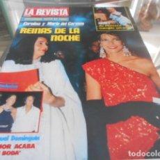Coleccionismo de Revistas y Periódicos: LA REVISTA - 10-6-1985 JACLYN SMITH 3F 2P. Lote 227688950