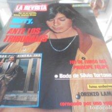 Coleccionismo de Revistas y Periódicos: LA REVISTA - 17-6-1985 - RAFFAELLA CARRA 3F 1P - MISS ESPAÑA 9F 5P. Lote 227689065