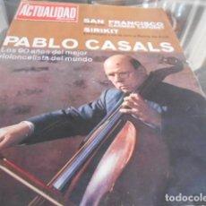 Coleccionismo de Revistas y Periódicos: ACTUALIDAD ESPAÑOLA - 29-9-1966 - AUDREY HEPBURN 5F 2P. Lote 227689940