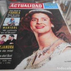 Coleccionismo de Revistas y Periódicos: ACTUALIDAD ESPAÑOLA - 16-5-1963 - MARISOL PORTADA 7F 3P. Lote 227690045