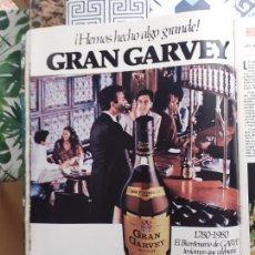 Coleccionismo de Revistas y Periódicos: ANUNCIO GRAN GARVEY. Lote 227783770