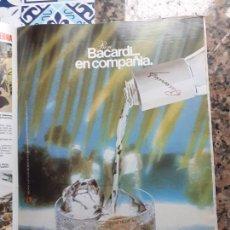 Coleccionismo de Revistas y Periódicos: ANUNCIO RON BACARDI. Lote 227783880