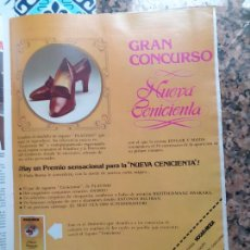 Coleccionismo de Revistas y Periódicos: ANUNCIO CALZADOS PLATINO BUSCA LA NUEVA CENICIENTA. Lote 227783902