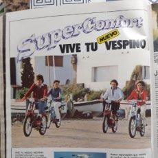 Coleccionismo de Revistas y Periódicos: ANUNCIO VESPINO VESPA. Lote 227783930