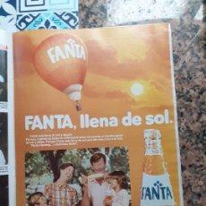 Coleccionismo de Revistas y Periódicos: ANUNCIO FANTA. Lote 227783955
