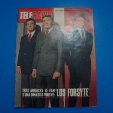 Coleccionismo de Revistas y Periódicos: REVISTA TELERADIO LOS BRINCOS LOS BRAVOS MIGUEL RIOS JERRY LEWIS SPENCER TRACY BETTE DAVIS Nº 718 L2. Lote 227869390