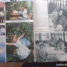 Colecionismo de Revistas e Jornais: DON ALFONSO DE BORBON DUQUE DE CADIZ CARMEN MARTINEZ BORDIU ROSSI MATHILDE FRAN. Lote 227901280