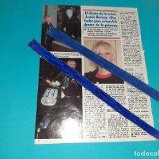 Coleccionismo de Revistas y Periódicos: JOSELE ROMAN - LUCHO PARA SOBREVIVIR- ENTREVISTA - 1 PAG.-AÑO 1995- RECORTE REVISTA-. Lote 227922835
