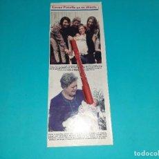 Coleccionismo de Revistas y Periódicos: EMMA PENELLA YA ES ABUELA -AÑO 1995- RECORTE REVISTA- VER DETALLES. Lote 227924531