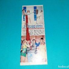 Coleccionismo de Revistas y Periódicos: CONDE LEQUIO ALESSANDRO- KARATECA EN JUEGO DE LA OCA -AÑO 1995- RECORTE REVISTA- VER DETALLES. Lote 227924735