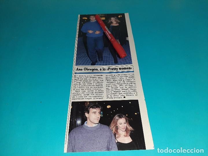 ANA OBREGON A LO PRETTY WOMAN CON JORGE JUSTE -AÑO 1995- RECORTE REVISTA- VER DETALLES (Coleccionismo - Revistas y Periódicos Modernos (a partir de 1.940) - Otros)