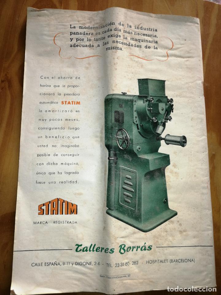 Coleccionismo de Revistas y Periódicos: REVISTA DE LAS INDUSTRIAS DE LA HARINA.MOLINERÍA Y PANADERÌA.JULIO 1955.Nº544. - Foto 3 - 227975135