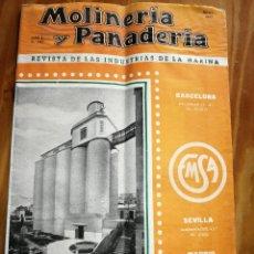 Coleccionismo de Revistas y Periódicos: REVISTA DE LAS INDUSTRIAS DE LA HARINA.MOLINERÍA Y PANADERÌA.JULIO 1955.Nº544.. Lote 227975135