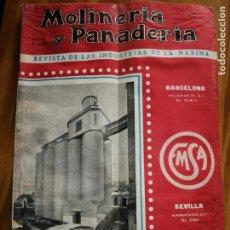 Coleccionismo de Revistas y Periódicos: REVISTA DE LAS INDUSTRIAS DE LA HARINA.MOLINERÍA Y PANADERÌA.AGOSTO 1955.Nº545.. Lote 227975285