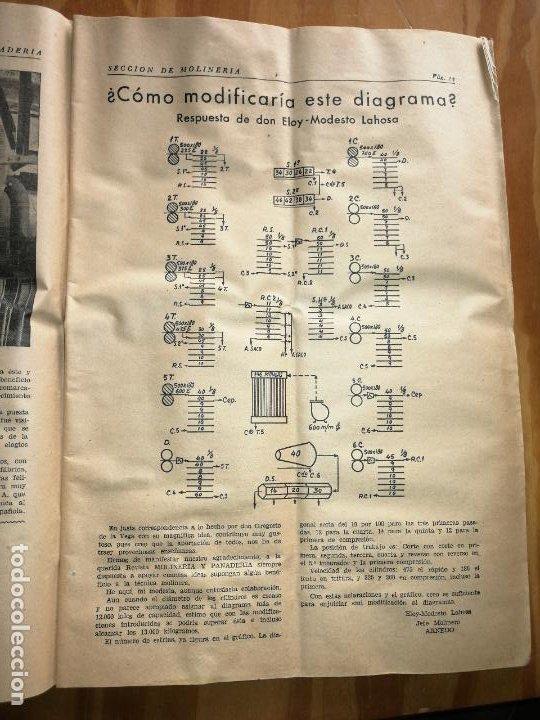 Coleccionismo de Revistas y Periódicos: REVISTA DE LAS INDUSTRIAS DE LA HARINA.MOLINERÍA Y PANADERÌA.SEPTIEMBRE 1955.Nº546. - Foto 2 - 227975470
