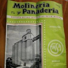 Coleccionismo de Revistas y Periódicos: REVISTA DE LAS INDUSTRIAS DE LA HARINA.MOLINERÍA Y PANADERÌA.NOVIEMBRE 1955.Nº548.. Lote 227976255