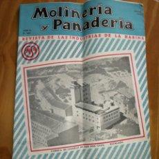 Coleccionismo de Revistas y Periódicos: REVISTA DE LAS INDUSTRIAS DE LA HARINA.MOLINERÍA Y PANADERÌA.ENERO 1956.Nº549.. Lote 227976473