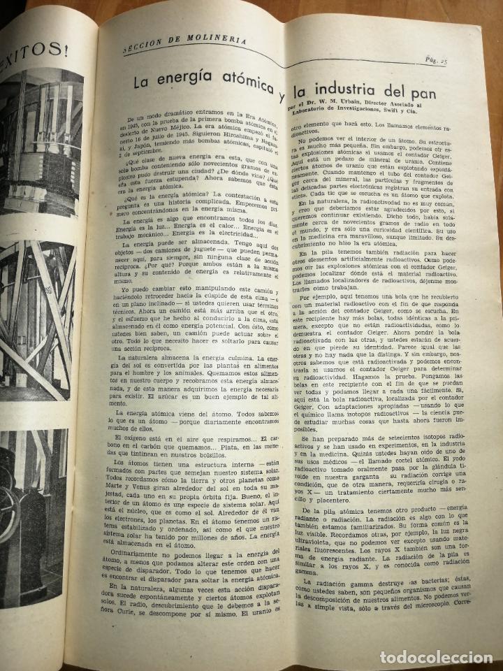 Coleccionismo de Revistas y Periódicos: REVISTA DE LAS INDUSTRIAS DE LA HARINA.MOLINERÍA Y PANADERÌA.AGOSTO 1956.Nº557. - Foto 2 - 227976545