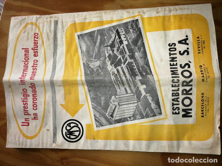 Coleccionismo de Revistas y Periódicos: REVISTA DE LAS INDUSTRIAS DE LA HARINA.MOLINERÍA Y PANADERÌA.JULIO 1957.Nº568. - Foto 3 - 227976630