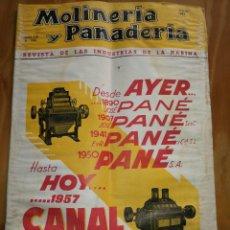 Coleccionismo de Revistas y Periódicos: REVISTA DE LAS INDUSTRIAS DE LA HARINA.MOLINERÍA Y PANADERÌA.JULIO 1957.Nº568.. Lote 227976630