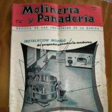 Coleccionismo de Revistas y Periódicos: REVISTA DE LAS INDUSTRIAS DE LA HARINA.MOLINERÍA Y PANADERÌA.MAYO 1957.Nº566. Lote 227976720