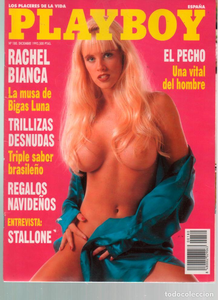 PLAYBOY Nº 180 RACHEL BIANCA, STALLONE, JENNY MCCARTHY, CANDY SUZI SIMPSON, EL FUGITIVO (Coleccionismo - Revistas y Periódicos Modernos (a partir de 1.940) - Otros)