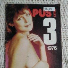Coleccionismo de Revistas y Periódicos: EL PAPUS EXTRA Nº 3 CHICAS, HUMOR, PASATIEMPOS - REVISTA EROTICA VINTAGE DE LOS AÑOS 70. Lote 72177847