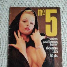 Coleccionismo de Revistas y Periódicos: PAPUS EXTRA Nº 5 , AGATA LYS , ( REVISTA EROTICA AÑO 1975 ). Lote 35673089