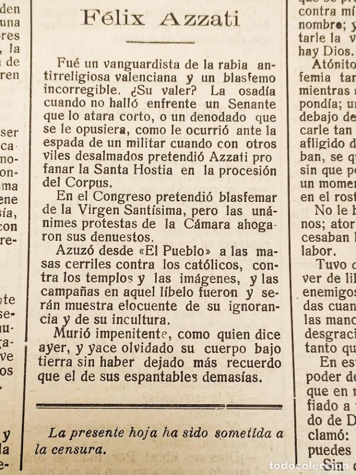 Coleccionismo de Revistas y Periódicos: EL BON MOT Nº135 PALMA MALLORCA 1930 HOJA BILINGÜE FELIX AZZATI IVON LESCOP, MUY RARA - Foto 3 - 224883373