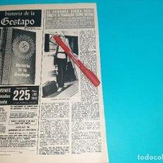 Coleccionismo de Revistas y Periódicos: SHEILA SCOTT VUELVE A TRABAJAR COMO ACTRIZ- ENTREVISTA - PAG.-AÑO 1974- RECORTE REVISTA-. Lote 228201095