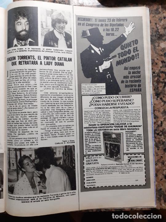 JOAQUIN TORRENTS PINTA A LADY DI DIANA DE GALES CAROLINA DE MONACO (Coleccionismo - Revistas y Periódicos Modernos (a partir de 1.940) - Otros)