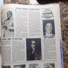 Coleccionismo de Revistas y Periódicos: NICK GILDER ANTONIO MACHIN CAMILO SESTO LOQUILLO TOM SAWYER. Lote 228220996