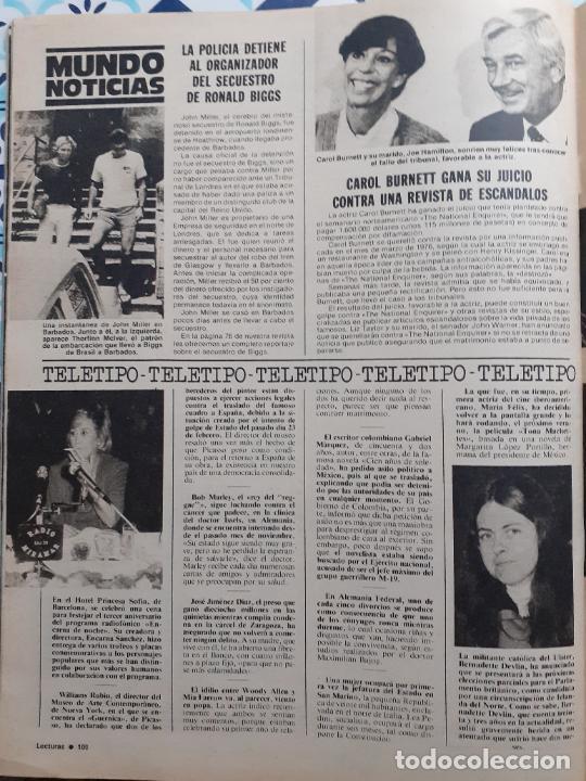 CAROL BURNETT BERNADETTE DEVLIN ENCARNA SANCHEZ (Coleccionismo - Revistas y Periódicos Modernos (a partir de 1.940) - Otros)