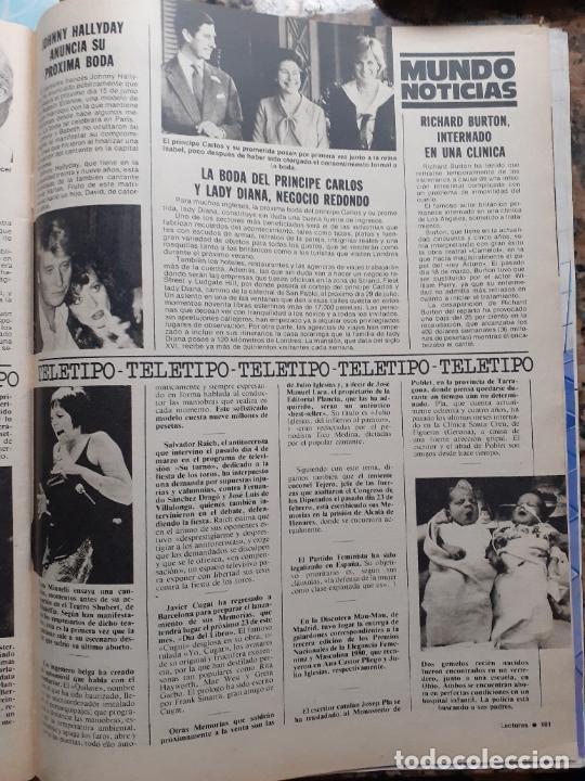 JOHNNY HALLYDAY LADY DI DIANA DE GALES LIZA MINNELLI (Coleccionismo - Revistas y Periódicos Modernos (a partir de 1.940) - Otros)