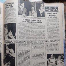 Coleccionismo de Revistas y Periódicos: JOHNNY HALLYDAY LADY DI DIANA DE GALES LIZA MINNELLI. Lote 228221105
